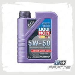 масло моторное liqui moly synthoil high tech (502.00/505.00) 5w-50 (1 л.)